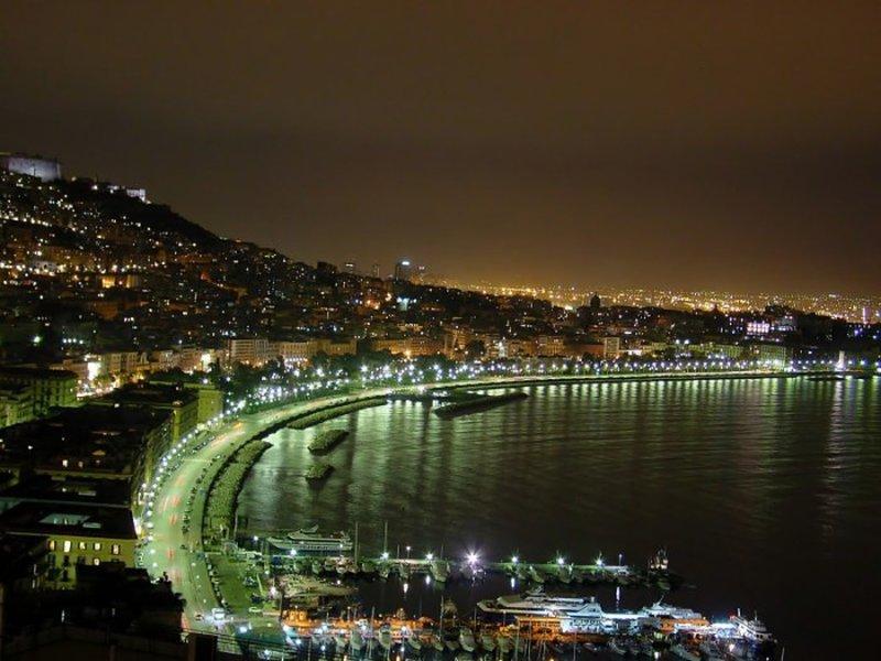 Salernosera Napoli Notte Via Caracciolo Salernosera